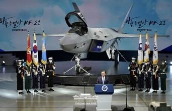 한국형 전투기(KF-X) 시제기 출고식