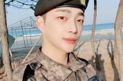 엔티크(N.tic) 상욱, 건강한 모습으로 전역... 솔로 준비 박차