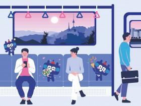 장난꾸러기 지하철 친구'또타'를 그려주세요!
